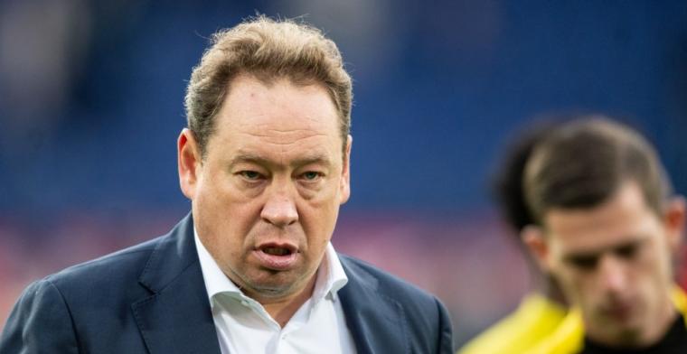 'Slutsky voert crisisoverleg met Vitesse-eigenaar, marginale rol voor Sturing'