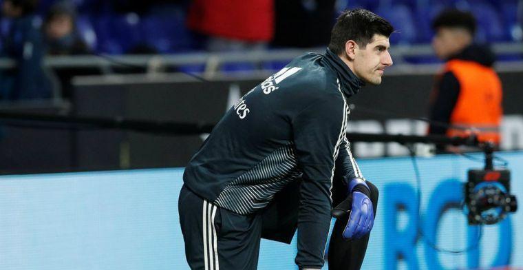 Courtois steunt Ajax-speler: Hij heeft de laatste tijd wat pech gehad