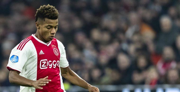 Ten Hag over bankzitter van Ajax: Hij is fit, ambitieus en gemotiveerd