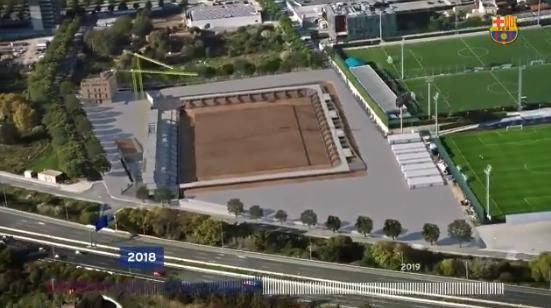 Prachtig: zó gaat het Estadi Johan Cruyff van FC Barcelona eruitzien