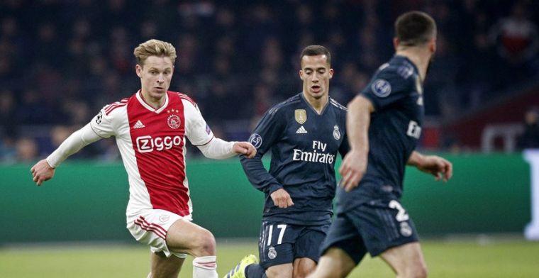 IJzersterk Ajax krijgt te weinig tegen Real Madrid in kolkende Johan Cruijff Arena