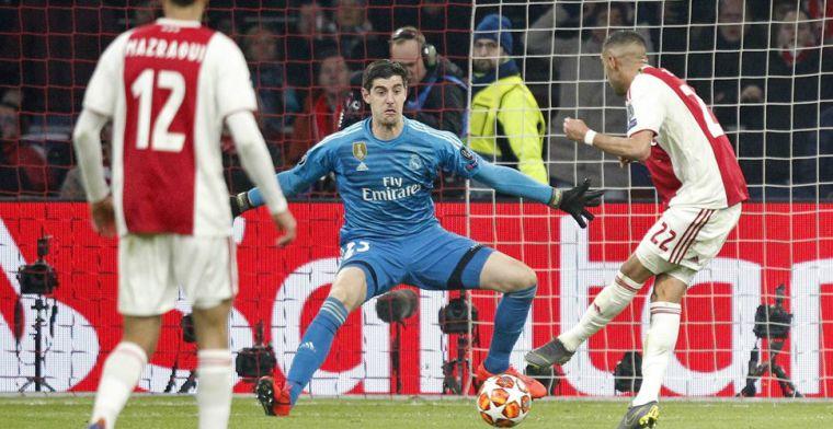 LIVE: Asensio dompelt sterk Ajax in rouw met late treffer voor Real (gesloten)