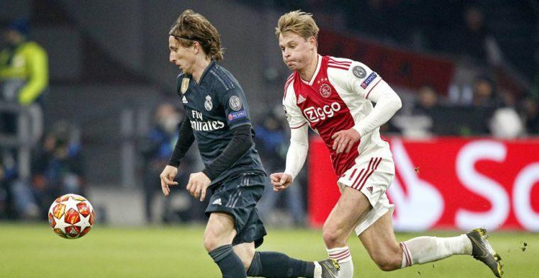 De Telegraaf: De Jong en Modric 'pissig' bij dopingcontrole na Ajax - Real Madrid