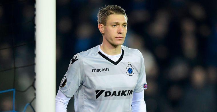 Club Brugge met 0-1 de rust in, kritiek op Horvath bij doelpunt