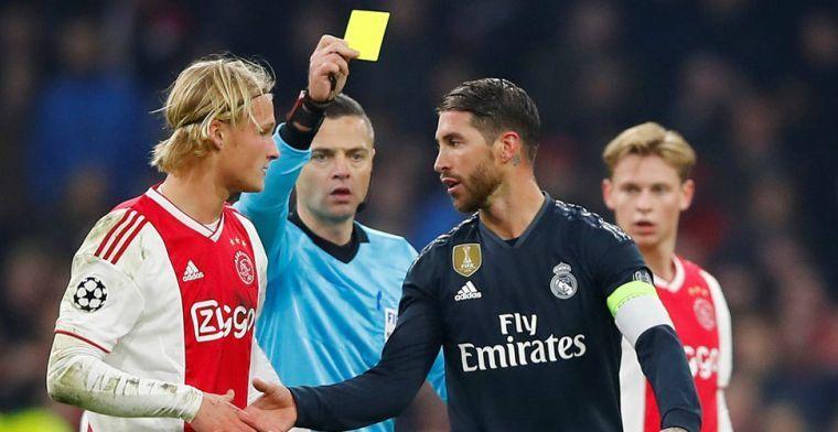 UEFA doet onderzoek naar uitspraken van Ramos na wedstrijd tegen Ajax