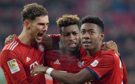 Afbeelding: Bayern komt twee keer terug van achterstand en maakt Bundesliga weer spannend
