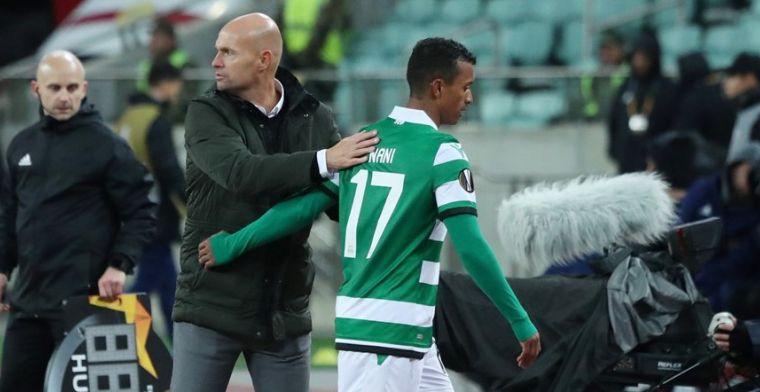 OFFICIEEL: In crisis verkerend Sporting Portugal laat Nani vertrekken