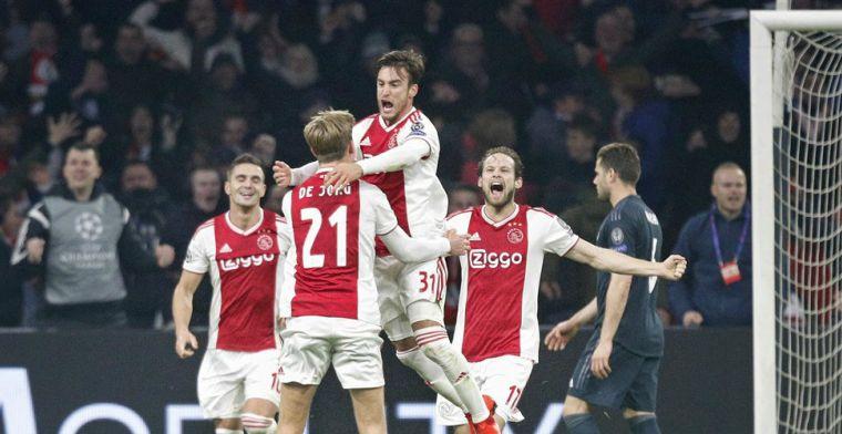 Scheidsrechtersbaas UEFA ziet 'complexe situatie' bij Ajax-goal: 'Terecht besluit'