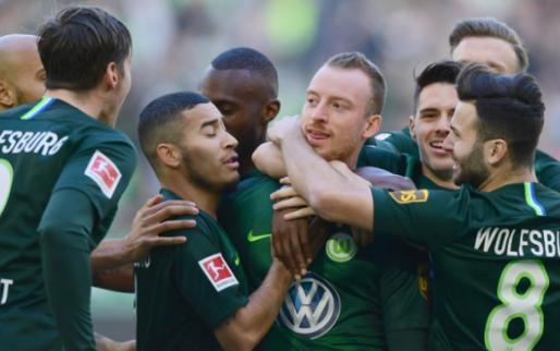 Afbeelding: Wolfsburg trekt aan het langste eind, ook Hoffenheim en Leipzig winnen