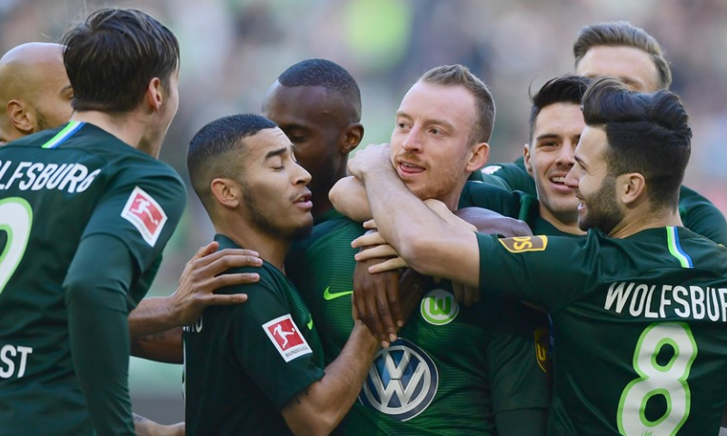 Afbeelding: Weghorst scoort opnieuw voor winnend Wolfsburg, winst Hoffenheim en Leipzig