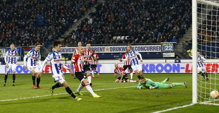 PSV wendt nederlaag in Heerenveen af in minuut 95, maar laat weer punten liggen