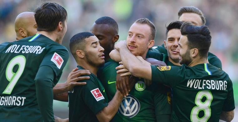 Wolfsburg trekt aan het langste eind, ook Hoffenheim en Leipzig winnen