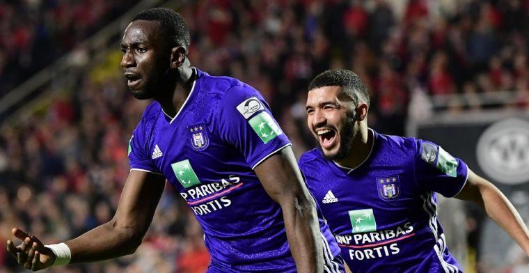 Nieuwkomer Bolasie zorgt voor delirium bij Anderlecht na late goal tegen Antwerp