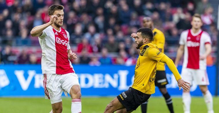 Bewondering bij NAC voor 'topploeg' Ajax: Dat kan geen enkele ploeg