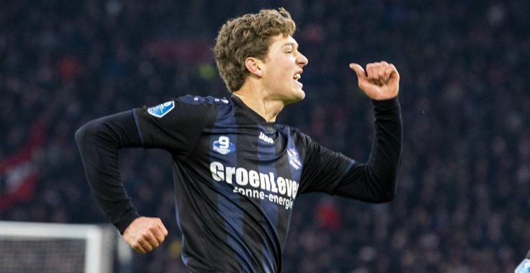 'Liever nog een jaar basisspeler bij Heerenveen dan op de bank bij PSV'