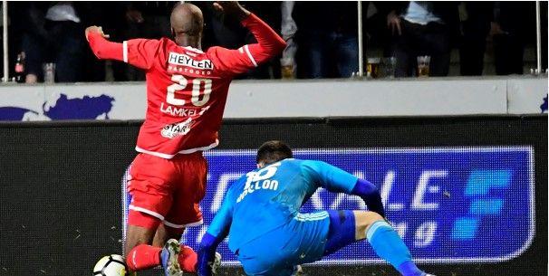 Antwerp-speler na strafschopfase met Didillon: Hij raakte me, maar ook niet echt