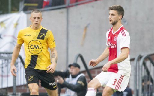 Afbeelding: Ajax wint met afgetekende cijfers van AZ; goals Veltman, Traoré en Cerny
