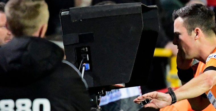Verbist geeft uitleg bij VAR-situatie tijdens Antwerp-Anderlecht: Terecht