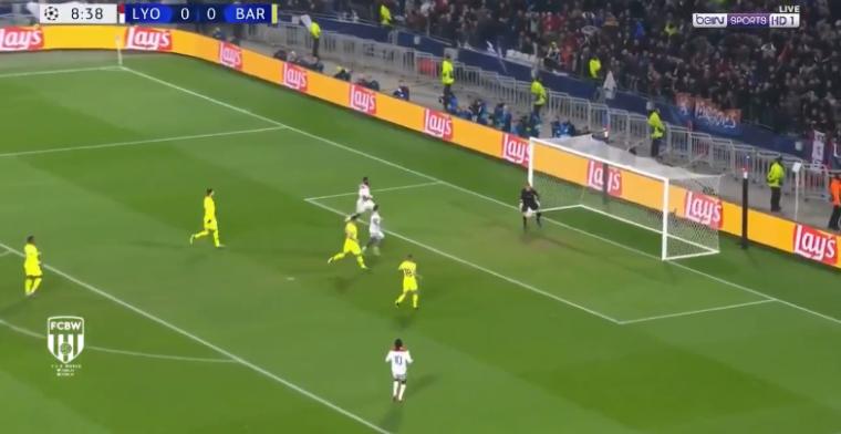 Ter Stegen redt FC Barcelona in Lyon met formidabele redding