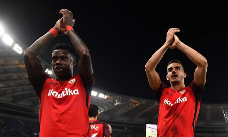 Afbeelding: Promes met Sevilla naar achtste finale Europa League na razendsnelle invalbeurt