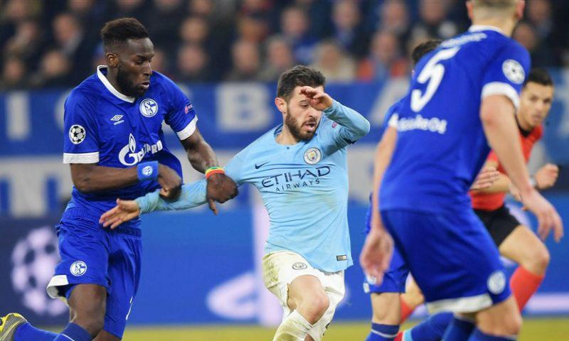 Afbeelding: Tien man van Manchester City wenden Schalke-stunt af: van 2-1 naar 2-3 in slotfase