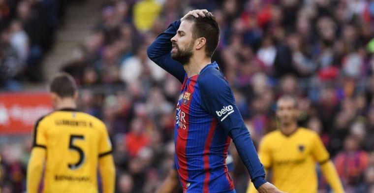Barça-icoon Pique haalt uit naar aartsrivaal: 'Dit theater van Real is niet nodig'