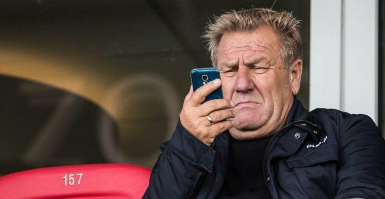 Willem van Hanegem deed ooit stage bij Anderlecht: Ik heb me kapot gelachen toen