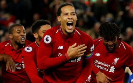 Afbeelding: 'Trage rechtsback' Van Dijk: 'Wil dat mensen mij herinneren als Liverpool-legende'