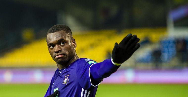 Anderlecht wacht op beslissing Dimata: 'Vijf maanden out'