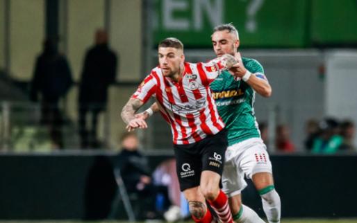 """Geen transfer voor Veldwijk: """"Dan hoef je er niet heel erg mee bezig te zijn"""""""