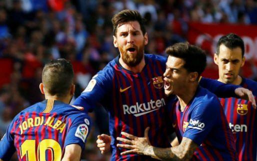 Messi geeft show weg in Sevilla: wereldgoal, wereldgoal en wereldgoal