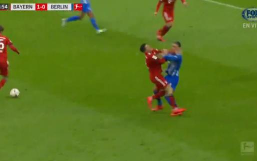 Rekik vergrijpt zich aan stervende zwaan Lewandowski en krijgt rood in München