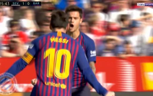 Schitterend: Messi repareert achterstand Barcelona met juweel van een treffer