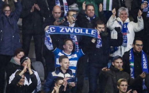 'Ajax wil busreis en catering voor Zwolse fans als geste uit eigen zak betalen'