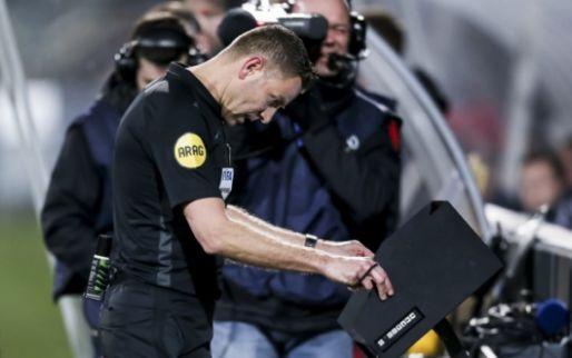 'Novakovich schopt zelf tegen zijn been aan, zei Van Boekel tijdens de wedstrijd'
