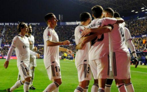 Afbeelding: Real Madrid krijgt hulp van VAR, eindigt uitwedstrijd tegen Levante met tien man