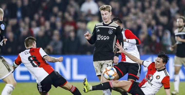 Waarom De Jong defensief top was en offensief minder indruk maakte bij Ajax