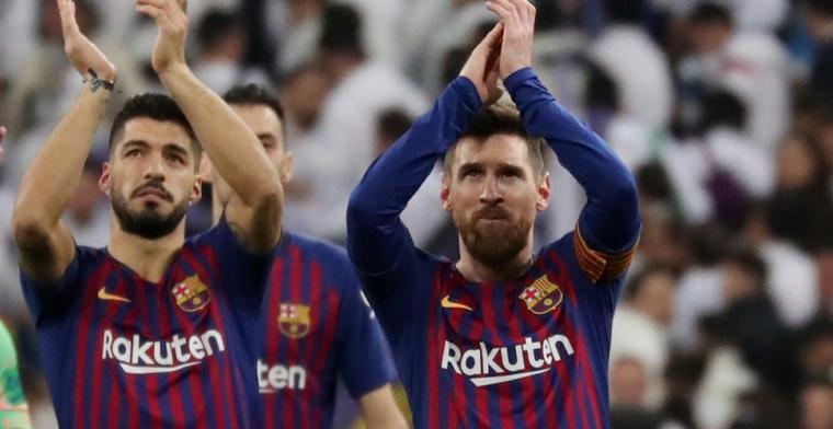 'Suarez negeert nationale ploeg en zet Barcelona even op eerste plek'