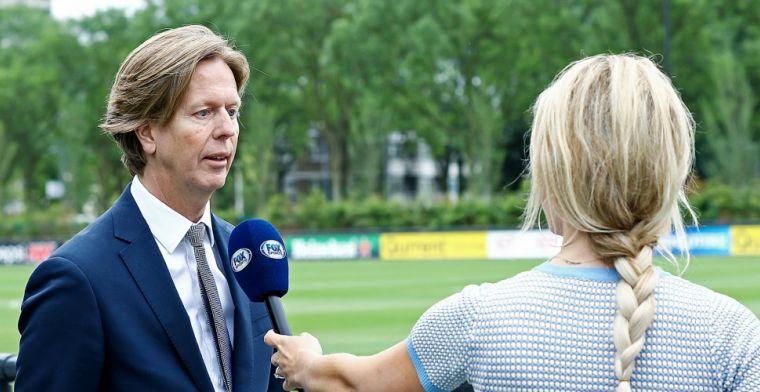 Groot nieuws van directeur De Jong: 'We zijn redelijk ver met een nieuwe trainer'