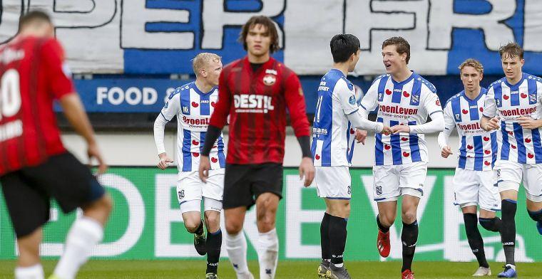 Labiel Heerenveen wint ternauwernood van Willem II na dramatische tweede helft