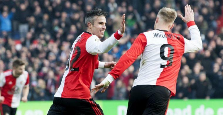 LIVE-discussie: Feyenoord met Van Persie én Jorgensen, primeur voor Haps