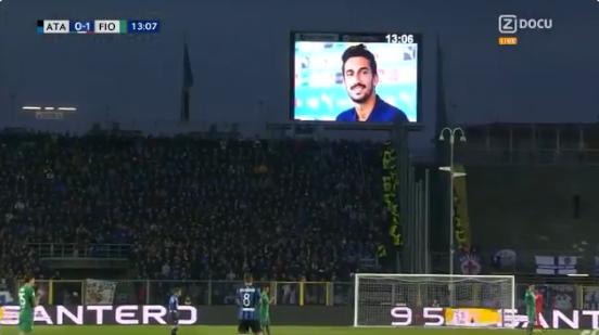 Indrukwekkend: Atalanta en Fiorentina stoppen voor eerbetoon aan Astori