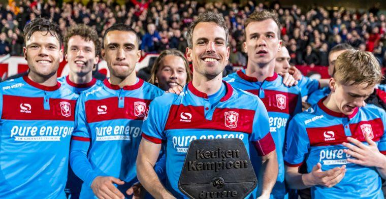 Sparta en Roda JC lijden duur puntenverlies, FC Twente pakt periodetitel