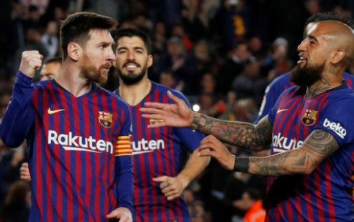 Afbeelding: Barça herstelt zich na achterstand en tankt vertrouwen voor return tegen Lyon