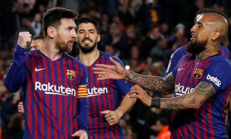 Afbeelding: Messi en Suarez nemen Barça bij de hand na achterstand tegen laagvlieger