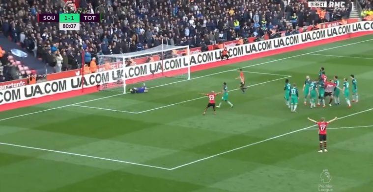 Sensatie in Southampton: Ward-Prowse velt ook Spurs met sublieme vrije trap