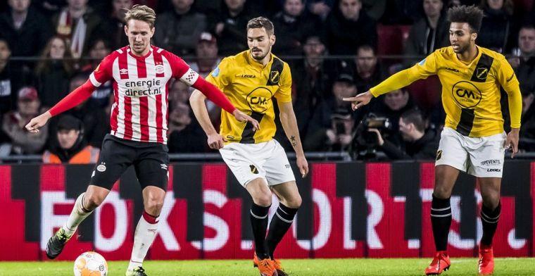Mager PSV verzuimt score flink op te voeren tegen machteloos NAC Breda