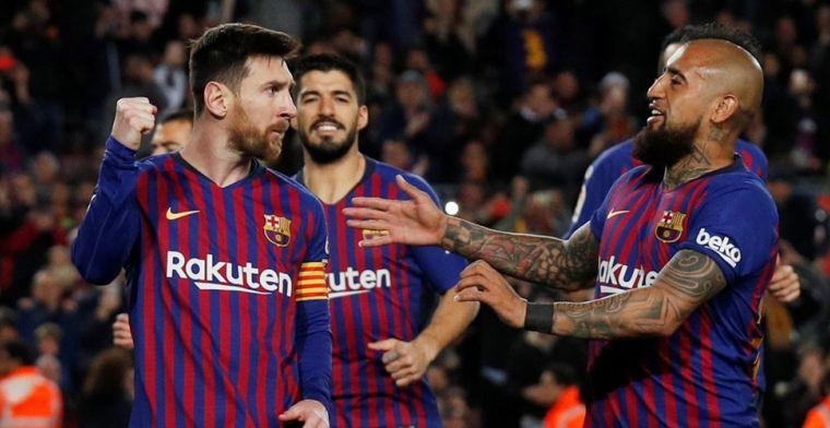 Barça herstelt zich na achterstand en tankt vertrouwen voor return tegen Lyon