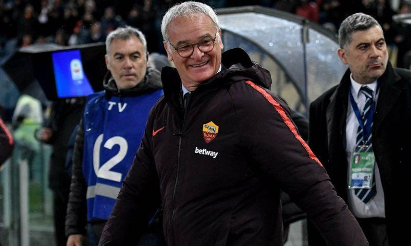 Afbeelding: AS Roma komt met schrik vrij bij debuut Ranieri, Haller belangrijk voor Frankfurt