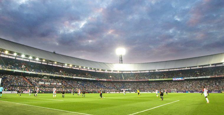 Feyenoord zwaar gestraft voor vuurwerk tegen PSV: heel vak moet leeg blijven